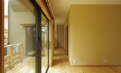 築70年 和モダン耐震改修住宅 (リビング)