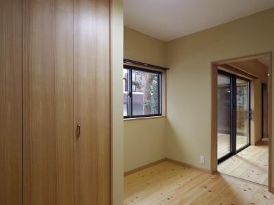 寝室 (築70年 和モダン耐震改修住宅)