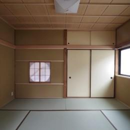 築70年 和モダン耐震改修住宅 (和室)