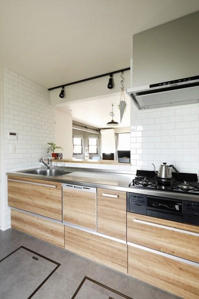 キッチン (N邸_private Hotel Blooklyn)