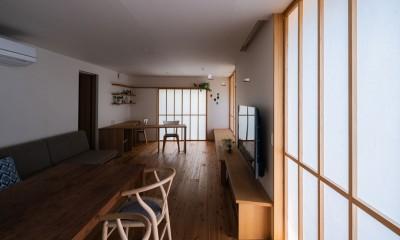 椿山の家 (リビング スタディスペース)