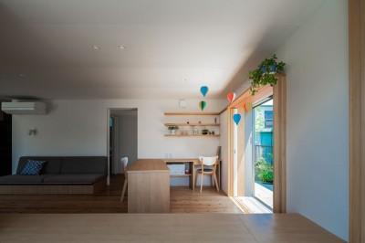 スタディスペース (椿山の家 -つながりのある家-)