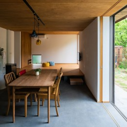土間から四季を、呼吸する家