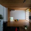 土間から四季を、呼吸する家の写真 リビング
