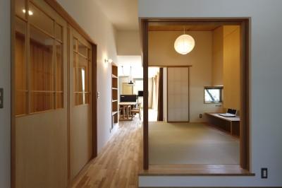 書斎 (奥ゆかしさと温もりのある家~家事らくで暮らしやすい和モダンの家~)