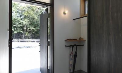 玄関|奥ゆかしさと温もりのある家~家事らくで暮らしやすい和モダンの家~