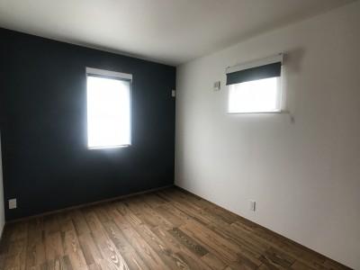 寝室 (長く住むことを考えた38坪のハコ(Haco))