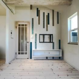 2階LDKだからこそ!明るく開放的な空間の家