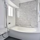 ホワイトスタジオ~ペットと趣味に優しいおうち~の写真 浴室