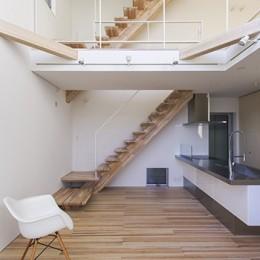 藤井寺の家 (階段)