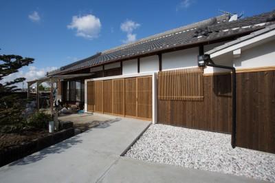 和歌山の古民家 (外観1)