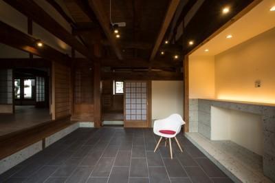 和歌山の古民家 (土間)