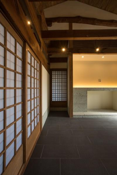 和歌山の古民家 (土間2)