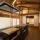 和歌山の古民家の写真 K+大黒柱
