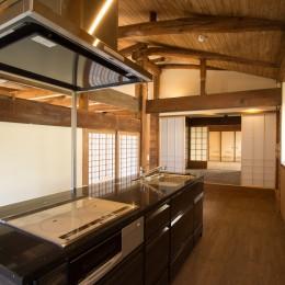 和歌山の古民家 (K+大黒柱)