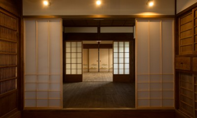 和歌山の古民家 (続き間)