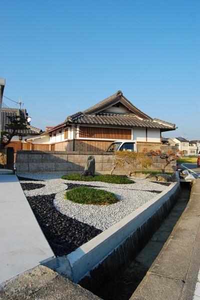 エクステリア・造園3 (和歌山の古民家)