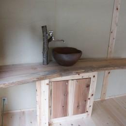 水道&ボウル (【石川県】趣味を満喫できる個室を離れとして新築)