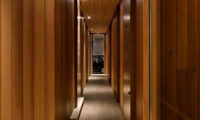 NS山荘 (廊下)