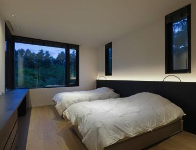 寝室 (SB山荘)