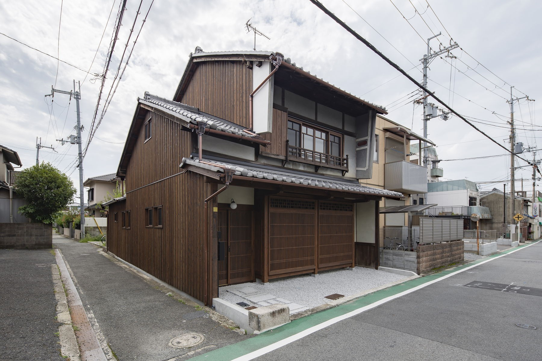 外観事例:佐保路の家||奈良町家のリノベーション(佐保路の家|奈良町家のリノベーション【奈良市】)