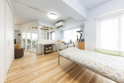使わないリビングや和室を奥様のお部屋に (快適とゆとり追求。サンルームのあるセカンドライフリノベーション)