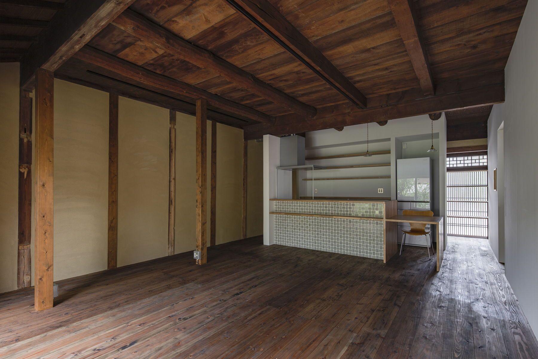 リビングダイニング事例:佐保路の家  奈良町家のリノベーション(佐保路の家 奈良町家のリノベーション【奈良市】)