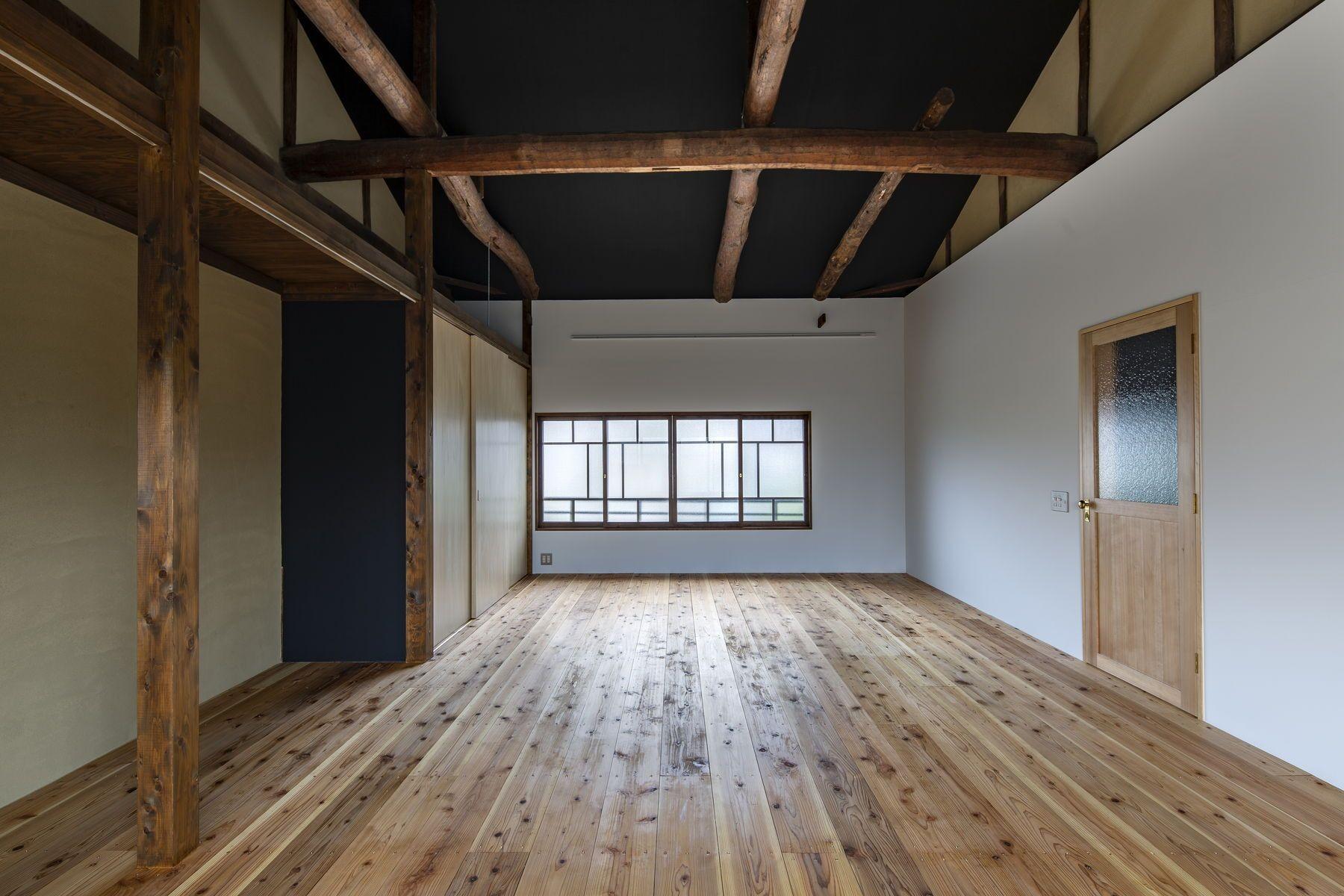 ベッドルーム事例:佐保路の家||奈良町家のリノベーション(佐保路の家|奈良町家のリノベーション【奈良市】)