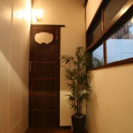 【茨木市 店舗】築80年の古民家を居心地良いカフェにリノベーション (カフェ トイレ)