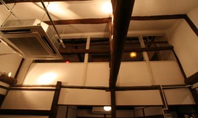 【茨木市 店舗】築80年の古民家を居心地良いカフェにリノベーション (カフェ 吹き抜け天井)