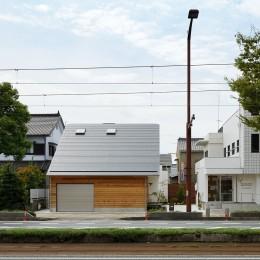 豊橋 八町通りの家 (外観(北側))