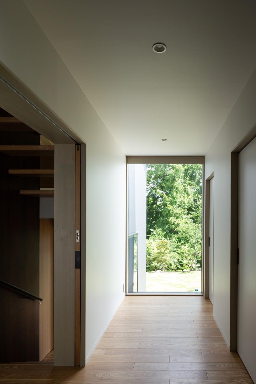 小諸の家 (玄関ホール)