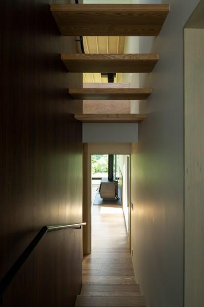 小諸の家 (階段)