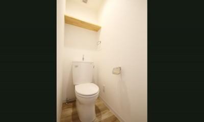 使い勝手重視の間取りへと変更 (トイレ)