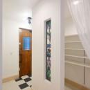 練馬・パティオのある光と風の家の写真 玄関