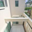 練馬・パティオのある光と風の家の写真 パティオ2