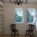 練馬・パティオのある光と風の家の写真 ご主人の書斎