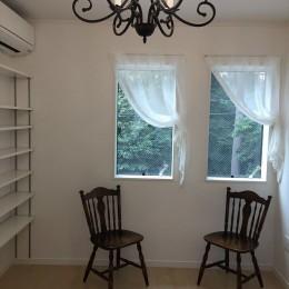 練馬・パティオのある光と風の家 (ご主人の書斎)