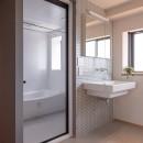 習志野市Dさんの家の写真 洗面所