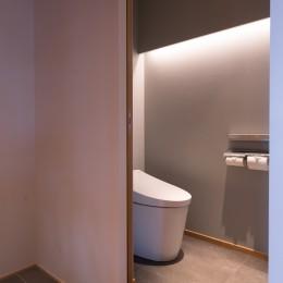 習志野市Dさんの家 (トイレ)