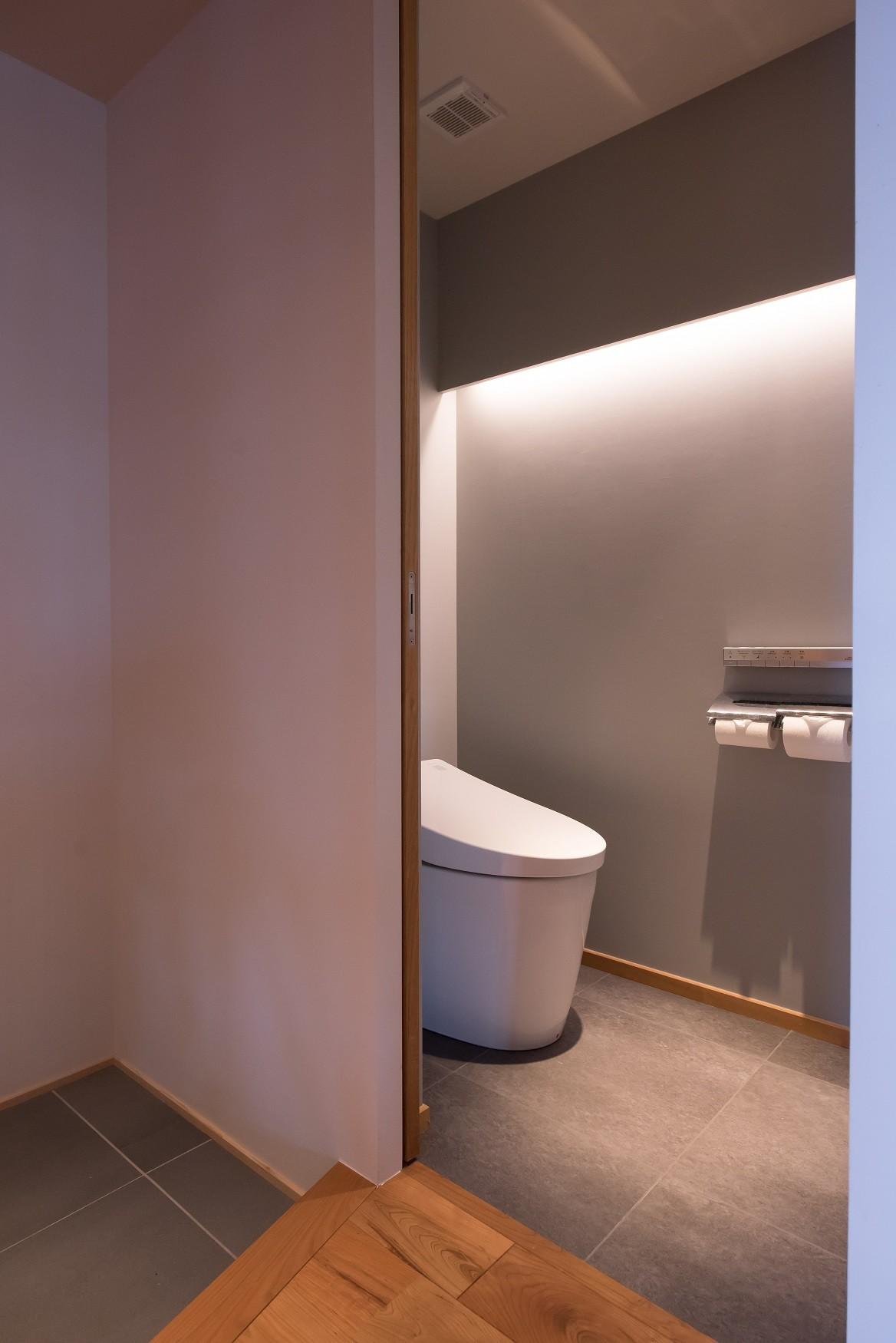 バス/トイレ事例:トイレ(習志野市Dさんの家)