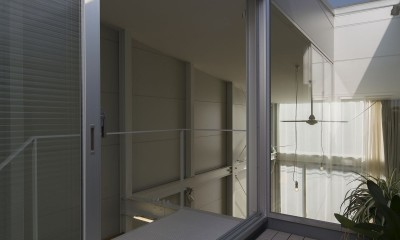 『』の家|鉄骨狭小スキップフロアのガレージハウス【大阪市】 (『』の家|鉄骨狭小スキップフロアのガレージハウス)