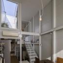 『』の家|鉄骨狭小スキップフロアのガレージハウス【大阪市】の写真 『』の家|鉄骨狭小スキップフロアのガレージハウス