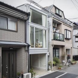 『』の家|鉄骨狭小スキップフロアのガレージハウス【大阪市】-『』の家|鉄骨狭小スキップフロアのガレージハウス