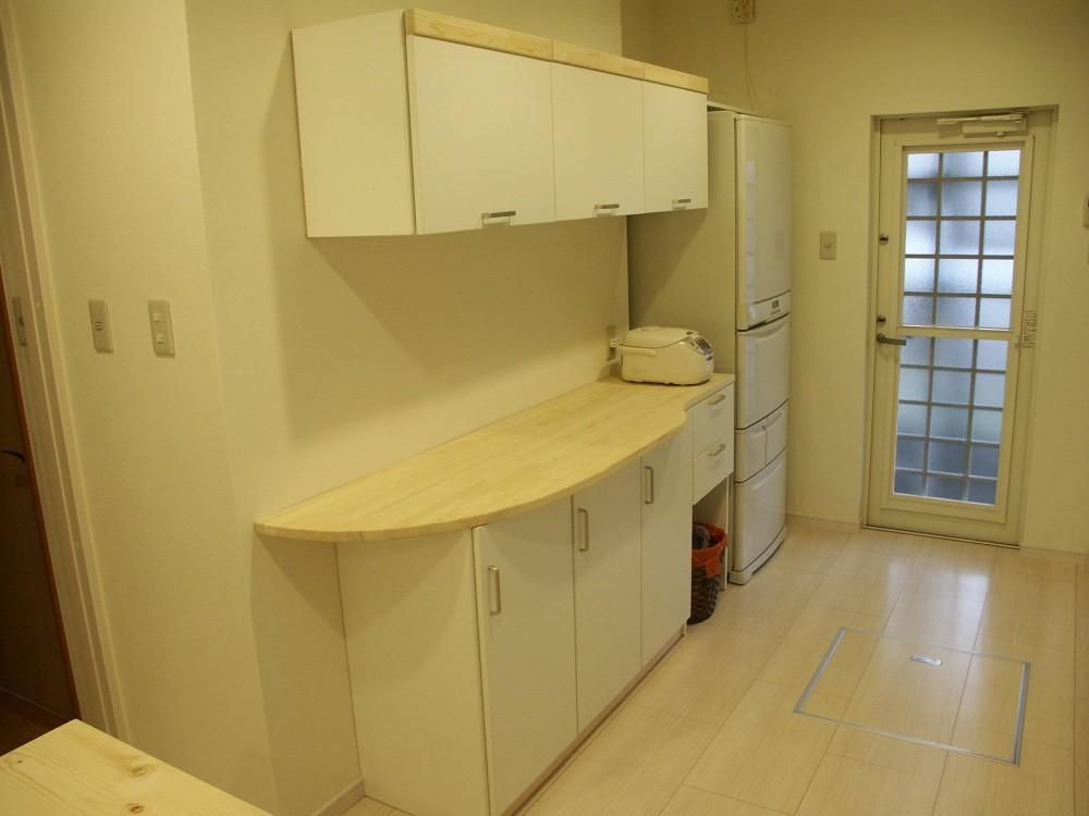 【吹田市】使い込んだ空間をリノベーションで快適空間に (キッチン)