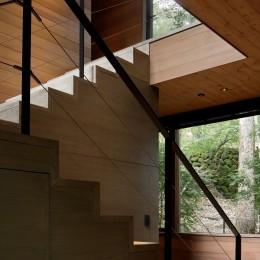 FT山荘 (階段)