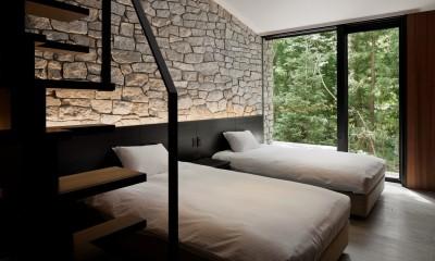 HK山荘 (寝室)