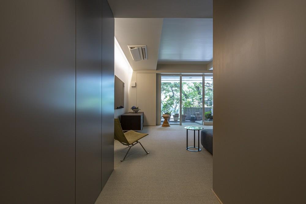 W house (廊下)