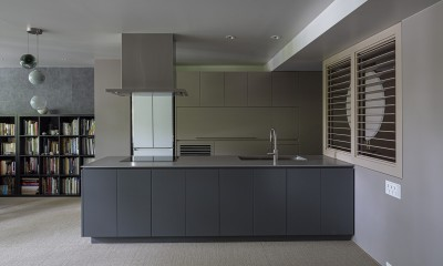 W house (kitchen)