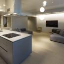 W houseの写真 kitchen - living room